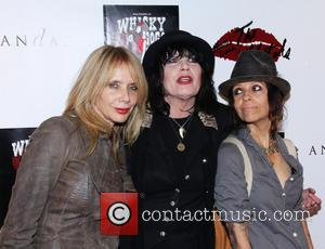 Rosanna Arquette and Linda Perry