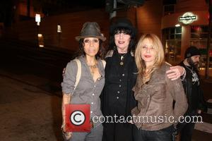 Linda Perry, Martha Davis and Rosanna Arquette - Whisky A Go Go's 50th anniversary party - Arrivals - Los Angeles,...