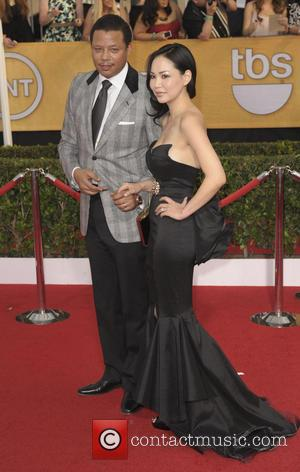 Terrence Howard and Miranda Howard - The 20th Annual Screen Actors Guild Awards arrivals - Los Angeles, California, United States...