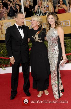 Tom Hanks, Emma Thompson and Rita Wilson