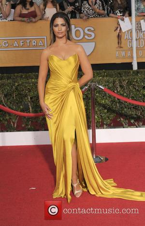 Camila Alves - The 20th Annual Screen Actors Guild Awards arrivals - Los Angeles, California, United States - Sunday 19th...