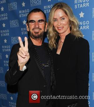 Ringo Starr Barbara Bach and Barbara Bach - The David Lynch Foundation honours Ringo Starr with the