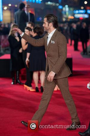 Chris Pine - 'Jack Ryan: Shadow Recruit' European Premiere held at the Vue Leicester Square - Arrivals. - London, United...