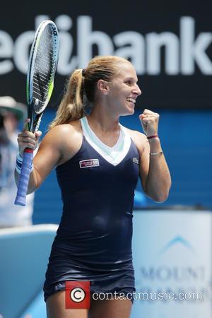 Victoria Azarenka - Australian Open Tennis Tournament 2014 - Day 8 - Women's singles - Victoria Azarenka of Belarus vs....