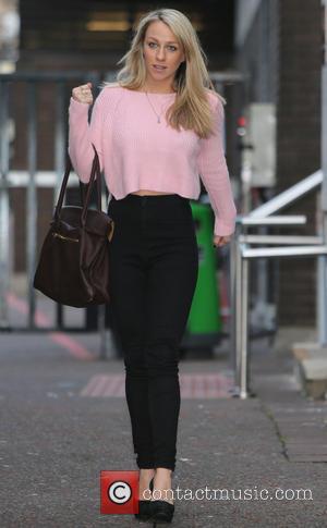 Chloe Madeley - Clloe Madeley outside ITV Studios - London, United Kingdom - Monday 20th January 2014