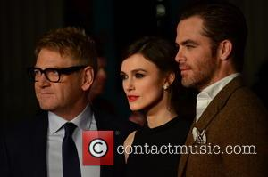 Kenneth Branagh, Keira Knightley and Chris Pine - European premiere of 'Jack Ryan: Shadow Recruit' held at the Vue Leicester...