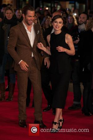 Chris Pine & Keira Knightley - European premiere of 'Jack Ryan: Shadow Recruit' held at the Vue Leicester Square -...