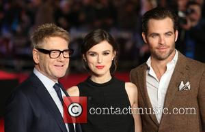 Chris Pine, Keira Knightley and Kenneth Branagh