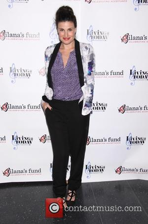 Idina Menzel - Living For Today: A Benefit for Gilana's Fund, held at Joe's Pub - Arrivals. - New York,...