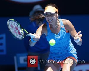 Ana Ivanovic - Australian Open Tennis 2014 at the Rod Laver Arena - Eugenie BOUCHARD (Can) defeated Ana IVANOVIC (Srb)...