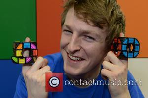 Speedcuber - Toy Fair at Olympia in London - London, United Kingdom - Tuesday 21st January 2014
