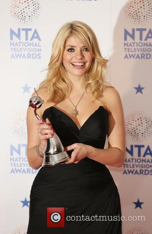 Holly Willoughby - The National Television Awards 2014 (NTA's) held at the O2 Arena - Press Room - London, United...
