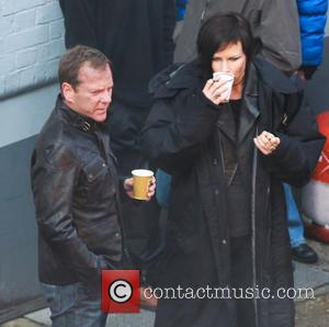 Kiefer Sutherland - Keifer Sutherland shoots a trailer for the upcoming series of 24 which is being filmed in London...