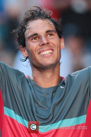 Rafael Nadal - Tennis - Australian Open 2014 Melbourne - Rafael Nadal vs. Grigor Dimitrov - Rod Laver Arena -...