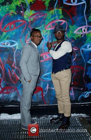 Jamel Robinson and Taye Diggs