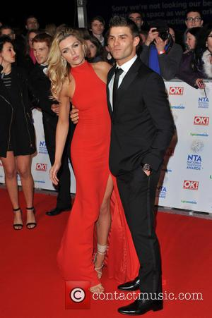 Abbey Clancy and Guest