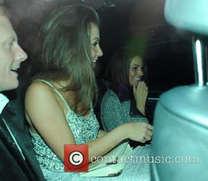 Michelle Keegan, Brooke Vincent and Antony Cotton