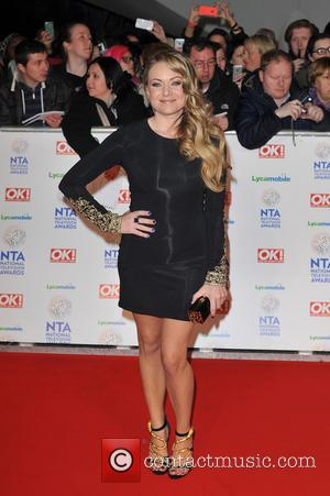 Rita Simons - National Television Awards held at the O2 Arena - Arrivals. - London, United Kingdom - Wednesday 22nd...