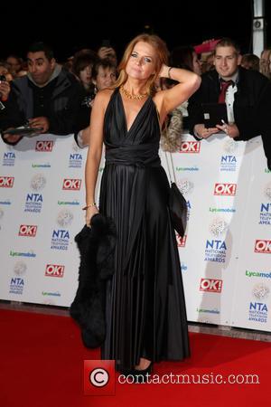 Patsy Palmer - The National Television Awards 2014 (NTA's) held at the O2 Arena - Arrivals - London, United Kingdom...