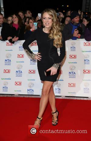 Rita Simons - The National Television Awards 2014 (NTA's) held at the O2 Arena - Arrivals - London, United Kingdom...