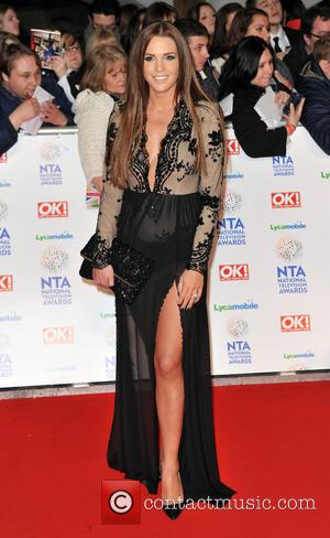Danielle Lloyd - The National Television Awards 2014 (NTA's) held at the O2 Arena - Arrivals - London, United Kingdom...