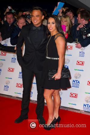 Gareth Gates and Beth Tweedle - The National Television Awards 2014 (NTA's) held at the O2 Arena - Arrivals -...