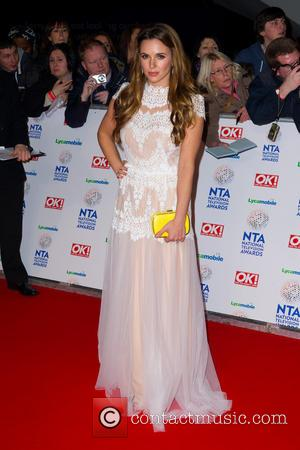 Jodie Albert - The National Television Awards 2014 (NTA's) held at the O2 Arena - Arrivals - London, United Kingdom...