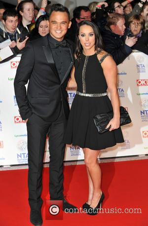 Gareth Gates and Beth Tweddle - The National Television Awards 2014 (NTA's) held at the O2 Arena - Arrivals -...