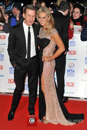 Jeremy Kyle and Carla Germaine - The National Television Awards 2014 (NTA's) held at the O2 Arena - Arrivals -...