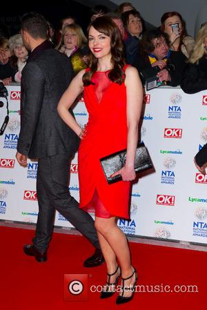 Kate Ford - The National Television Awards 2014 (NTA's) held at the O2 Arena - Arrivals - London, United Kingdom...