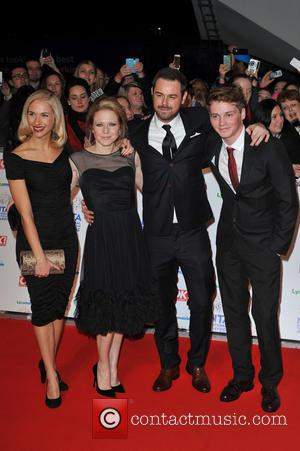 Danny Dyer and guests - National Television Awards held at the O2 Arena - Arrivals. - London, United Kingdom -...