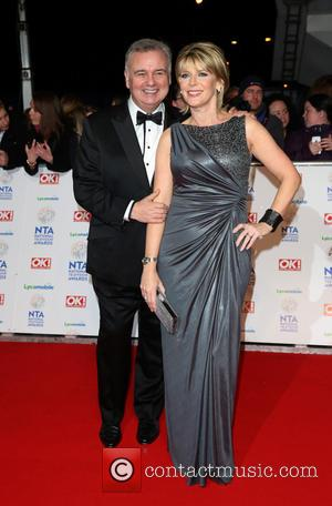 Eamonn Holmes and Ruth Langsford - The National Television Awards 2014 (NTA's) held at the O2 Arena - Arrivals -...