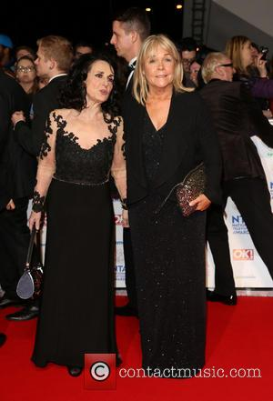 Lesley Joseph and Linda Robson - The National Television Awards 2014 (NTA's) held at the O2 Arena - Arrivals -...