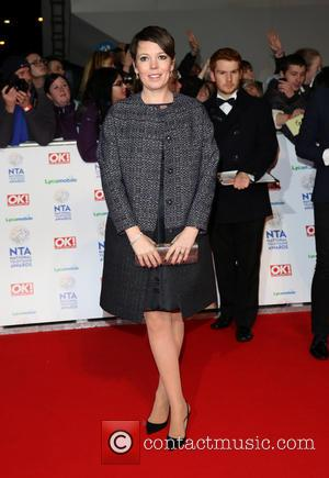 Olivia Colman - The National Television Awards 2014 (NTA's) held at the O2 Arena - Arrivals - London, United Kingdom...