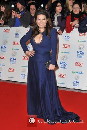 Debbie Rush - National Television Awards held at the O2 Arena - Arrivals. - London, United Kingdom - Wednesday 22nd...