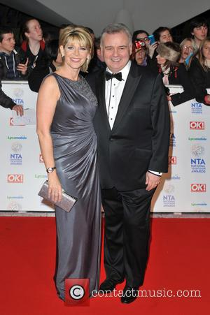 Ruth Langsford and Eamonn Holmes - National Television Awards held at the O2 Arena - Arrivals. - London, United Kingdom...