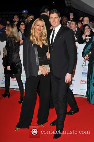 Tess Daly and Vernon Kay - National Television Awards held at the O2 Arena - Arrivals. - London, United Kingdom...