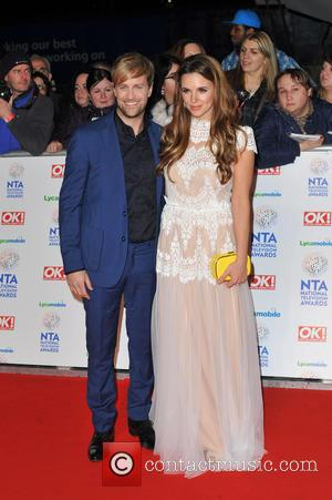 Kian Egan and Jodi Albert - National Television Awards held at the O2 Arena - Arrivals. - London, United Kingdom...
