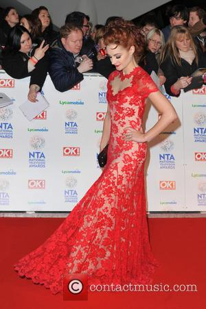Paula Lane - National Television Awards held at the O2 Arena - Arrivals. - London, United Kingdom - Wednesday 22nd...