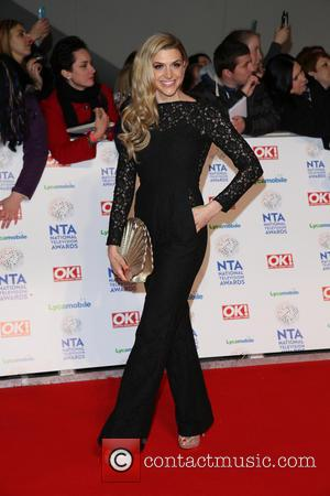 Anna Williamson - The National Television Awards 2014 (NTA's) held at the O2 Arena - Arrivals - London, United Kingdom...