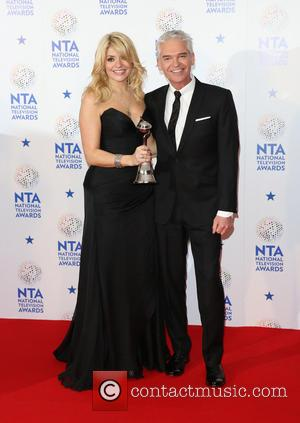 Holly Willoughby and Phillip Schofield - The National Television Awards 2014 (NTA's) held at the O2 Arena - Press Room...