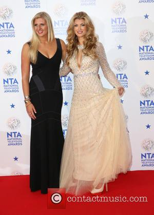 Rebecca Adlington and Amy Willerton - The National Television Awards 2014 (NTA's) held at the O2 Arena - Press Room...
