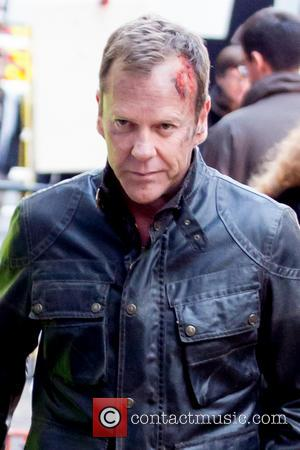 Kiefer Sutherland's Jack Bauer Gains Head Wound Filming '24' In London [Pictures]