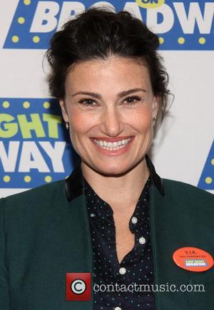 Idina Menzel - Kids Night On Broadway Press Conference, held at Sardi's restaurant. - New York, New York, United States...