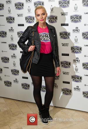 Helen Flanagan - Pure Rally launch at the Millennium Mayfair Hotel - London, United Kingdom - Thursday 23rd January 2014