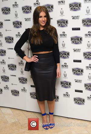 Lucy Pinder - Pure Rally launch at the Millennium Mayfair Hotel - London, United Kingdom - Thursday 23rd January 2014