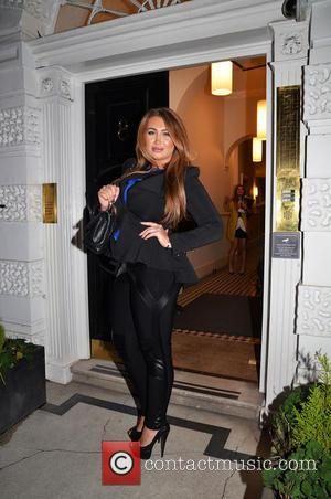 Lauren Goodger - Regency Aesthetics official launch event in Wimpole Street - London, United Kingdom - Thursday 23rd January 2014