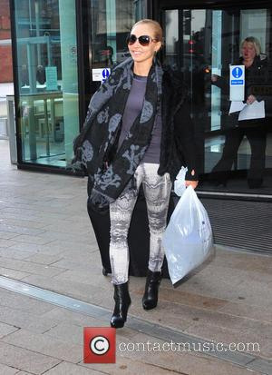 Iveta Lukosiute - The strictly come Dancing tour arrives in Liverpool.Contestants were seen leaving there hotel in Liverpool ahead of...