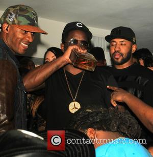 P Diddy - P Diddy hosts a pre Grammy party at Boulevard 3 in Hollywood - Los Angeles, California, United...