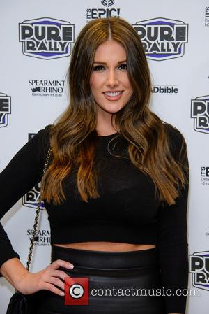 Lucy Pinder - The launch of the new 2014 Pure Car Rally at Millennium Mayfair Hotel - Arrivals - London,...